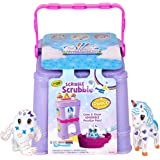 Scribble Scrubbie Peculiar Pets Palace, Unicorn, yeti, Colour & Wash in a Fun Palace Environment, Toy Pet Play-Set, Includes