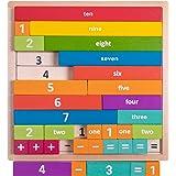 Professor Poplar's Astounding Arithmajig Math Learning Jigsaw Kids Toddlers STEM Tool Teaching Spatial Reasoning Basic Mathem