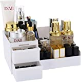Sooyee Makeup Organizer - Vanity Box with Drawers for Cosmetics, Jewelry, Accessories, Nail Care Essentials, Skincare Items -