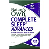 Nature's Own Complete Sleep Advanced - Traditionally Used In Chinese Medicine To Reduce Time Taken To Fall Asleep, 30 Tablets