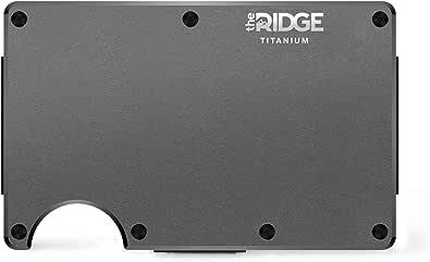 [ザ リッジ] the RIDGE【国内正規品】スマートフォンよりも薄い財布 チタニウム マネークリップ