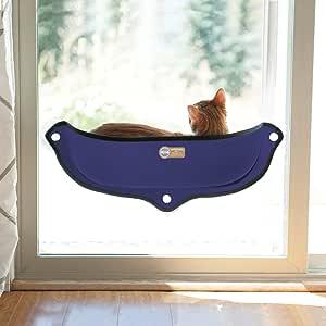 K&H WINDOW BED DENIM BLUE/KHBD6098DE/ウィンドウベッド/吸盤猫用ベッド/デニム色/窓が好きな愛猫へ/吸盤で窓に取付け デニムブルー 体重9kgまでの猫用