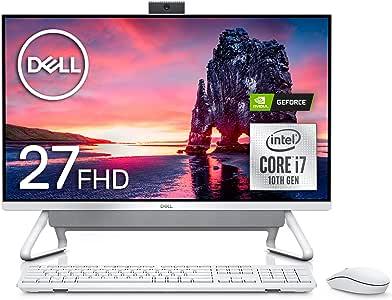Dell デスクトップパソコン Inspiron 7790 Core i7 シルバー 20Q31/Win10/27FHD/16GB/256GB SSD+1TB HDD/MX110