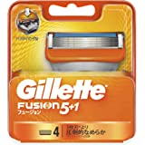 ジレット フュージョン5+1 マニュアル 髭剃り 替刃 単品 4コ入