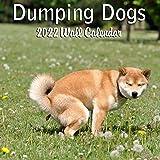 "Blue Wolf Calendar Company DUMPING DOGS 2022 Monthly Wall Calendar with Four Bonus Months from 2021 16-Month Calendar 12"" x 2"