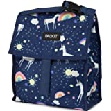 PackIt Freezable Lunch Bag with Zip Closure, Unicorn Sky, 1 ea