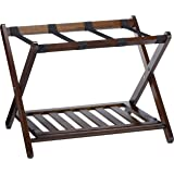 Winsome Wood 40436 Remy Shelf Luggage Rack, Cappuccino
