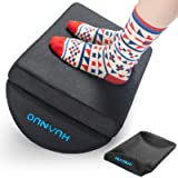 Adjustable Foot Rest - Under Desk Footrest with 2 Optional Covers for Desk, Airplane, Travel, Ergonomic Foot Rest Cushion wit