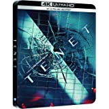 TENET テネット 4K UHD 限定スチールブック仕様 [4K UHD+Blu-ray ※4K UHDのみ日本語有り](輸入版)