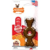 Nylabone Power Chew Ring Bone Chew Toy for Dogs Flavor Medley Flavor X-Small/Petite - Up to 15 lbs.