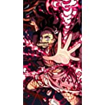 鬼滅の刃 iPhone SE/8/7/6s(750×1334)壁紙 竈門禰豆子 (かまどねずこ) 血鬼術 爆血