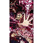 鬼滅の刃 XFVGA(480×854)壁紙 竈門禰豆子 (かまどねずこ) 血鬼術 爆血