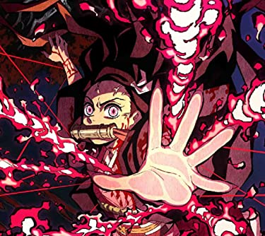 鬼滅の刃  iPhone/Androidスマホ壁紙(960×854)-1 - 竈門禰豆子 (かまどねずこ) 血鬼術 爆血
