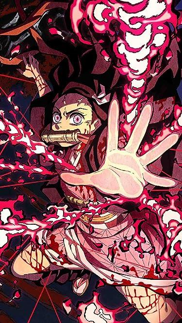 鬼滅の刃  iPhone/Androidスマホ壁紙(720×1280)-1 - 竈門禰豆子 (かまどねずこ) 血鬼術 爆血