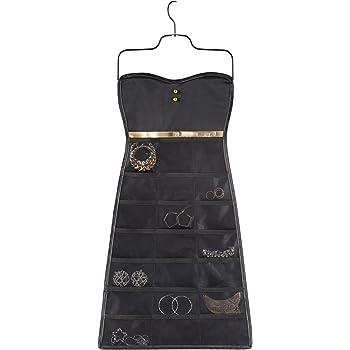 umbra アクセサリー収納 BOW DRESS ORGANIZER(リトルブラックドレス ボウ) ブラック/ゴールド 2299045-042