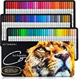 Hethrone 100 Colors Dual Brush Tip Markers Art Pens, Bullet Journal Pens Markers for Adults Kids Drawing Coloring Calligraphy