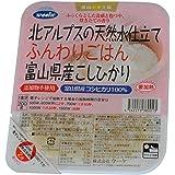 ウーケ ふんわりごはん 富山県産コシヒカリ (200g×3P)×8個
