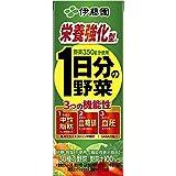 [機能性表示食品] 伊藤園 1日分の野菜 栄養強化型 (紙パック) 200ml×24本
