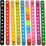 9 Colors 7 Inch Wristbands Silicon Bracelets for Kid Party Gift/shoe Charms