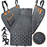 URPOWER Dog Seat Cover Car Seat Cover for Pets 100% Waterproof Pet Seat Cover Hammock 600D Heavy Duty Scratch Proof Nonslip D