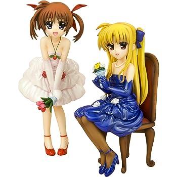 コトブキヤ 魔法少女リリカルなのは The MOVIE 1st 高町なのは&フェイト・テスタロッサ -ドレス- 1/8スケール PVC塗装済み完成品