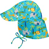 i play. Flap Sun Protection Hat | All-Day Sun Protection for Head, Neck, & Eyes | Adjustable Size, UPF 50+ Protection, Quick-