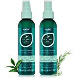 HASK Invigorating TEA TREE OIL 5-in-1 Leave In Conditioner Spray for all hair types, color safe, gluten free, sulfate free, p