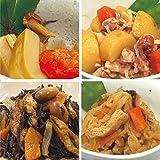 uchipac 人気和惣菜セット 国産素材・無添加・無菌・常温保存 賞味期限 1年 4種×各2個