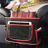 AIANDJI Car Net Pocket Handbag Holder between Seats, Net Purse Holder for Car, Mesh Seat Netting Pouch Storage, Large Capacit
