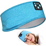 Sleep Headphones Bluetooth Headband, Perytong Upgrage Soft Sleeping Wireless Music Sport Headbands, Long Time Play Sleeping H