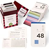 Think Tank Scholar 173 Multiplication Flash Cards | Full Set (All Facts 0-12) | Best for Kids in 3rd, 4th 5th & 6th Grade