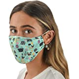 Slumbies! Cloth Face Coverings for Women & Men - Washable Face Coverings - Reusable Face Coverings - Flexible Nose Bridge - A