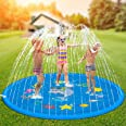"""Hotdor Sprinkler for Kids, 69"""" Splash Pad, and Outdoor Water Toys for 3-12 Year Old Boys Girls Children Outdoor Party Sprinkl"""