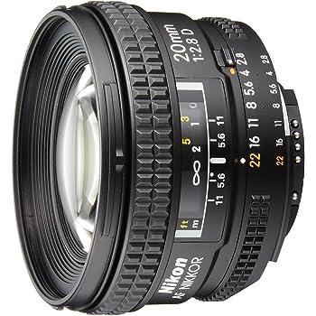 Nikon 単焦点レンズ Ai AF Nikkor 20mm f/2.8D フルサイズ対応