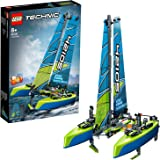 LEGO Technic Catamaran 42105 Model Sailboat Building Kit
