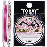 東レ(TORAY) ナイロンライン 将鱗 へら タイプ2 道糸 50m 0.8号 パッションピンク