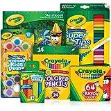 CRAYOLA 04 1984 140 Piece Favourites Inspiration Set, Premium Quality Assortment of Colouring Tools, 64 Crayons, 24 Coloured