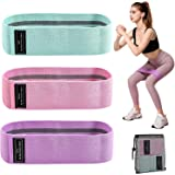 Sososoyug Hip Resistance Bands Squat Practice With Hip Loop Elastic Band Tension Band And Yoga Wide Workout Fitness Bands For