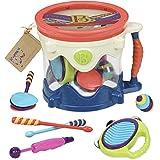 B. toys Let's ドラムロール おもちゃの楽器セット全5種入り BX1446C1X 正規品
