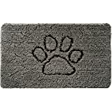 Gorilla Grip Original Shaggy Chenille Pet Rug Mat (30 x 20), Extra Soft on Paws, Helps Absorb Mud and Dirt, Machine Wash/Dry,