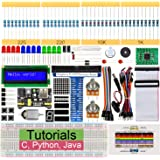 Freenove Super Starter Kit for Raspberry Pi 4 B 3 B+ 400, 285-Page Detailed Tutorials, Python C Java Code, 164 Items, 38 Proj