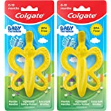 Colgate Baby Toothbrush and Teether, BPA Free – 2 Count