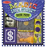 Melissa and Doug 5190 Magic in a Snap! Hocus Pocus Collection Magic Tricks Set (12 pcs)