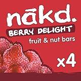 Nakd Berry Delight Multipack (Pack of 4), 140 g