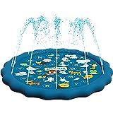 SplashEZ 3-In-1 Sprinkler For Kids, Splash Pad, And Wading Pool For LearningChildrenS Sprinkler Pool, 60 Inflatable Water Toy