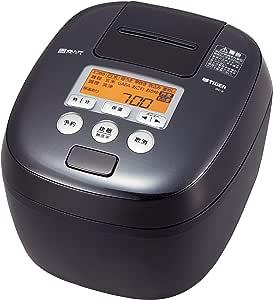 タイガー 炊飯器 5.5合 圧力IH 麦飯専用コース付き 炊きたて ブラック JPC-B101-K