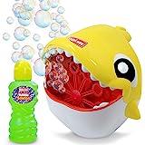 Kidzlane Shark Bubble Machine – Bubble Machine for Kids & Toddlers Outdoors – Kids Bubble Machine, Automatic Bubble Machine B