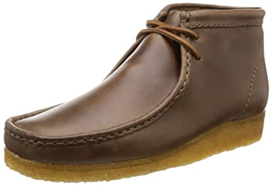 Wallabee Boot: Camel Leather