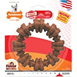 Nylabone Power Chew Textured Dog Chew Ring Toy Flavor Medley Flavor Small/Regular