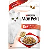 モンプチ バッグ 高齢猫用(15歳以上) 5種のブレンド チキン・ポーク・お米・大豆・小魚味 600g [キャットフード…